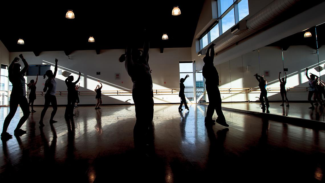 Folsom Lake College, Main Campus Physical Education dance