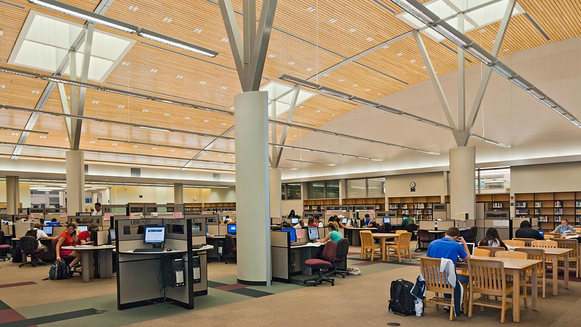 Folsom Lake College, Main Campus library