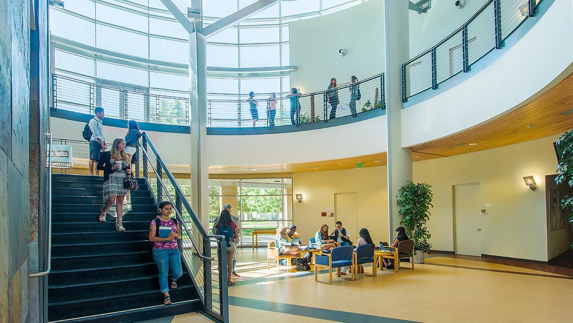 Folsom Lake College, Main Campus Cypress Hall interior