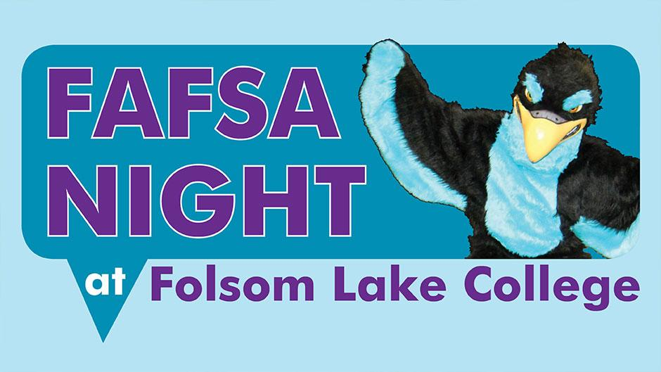 FAFSA - sign up early!